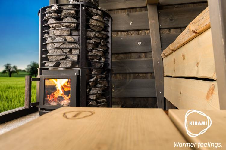 In addition to hot tubs, you can now also order an outdoor sauna from Kirami | Kirami