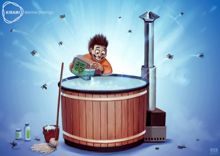 Filter och kemikalier underlättar för den som badar ofta 2cba81e542784