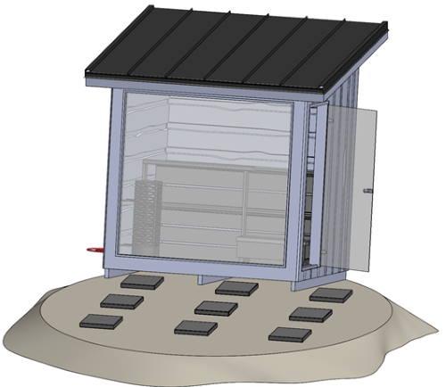 Empfohlenes Fundament für die FinVision-Sauna | Kirami