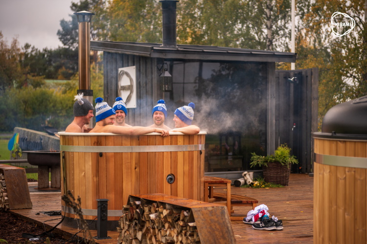 Our goal is to keep expanding the sales of hot tubs and saunas in Finland and abroad | Kirami FinVision -sauna