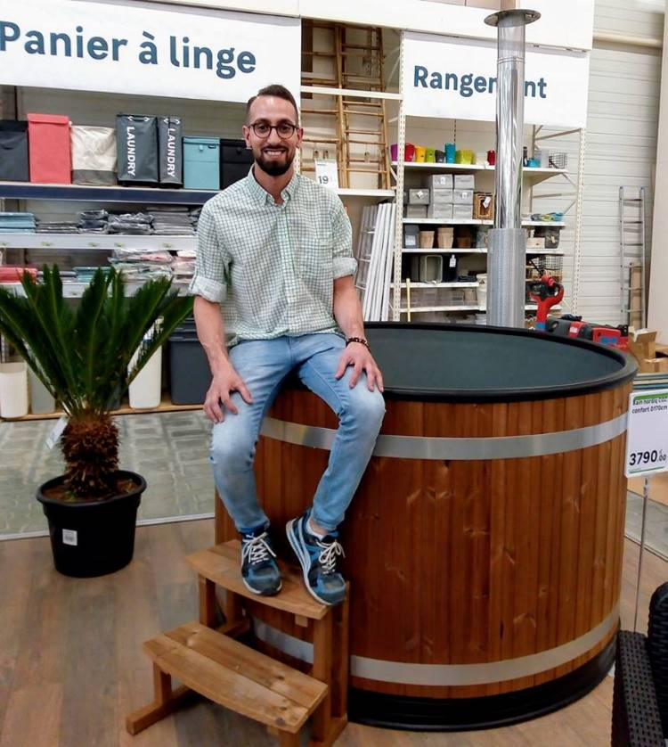 Kirami hot tubs are now avaible in the famous DIY stores Leroy Merlin | Kirami