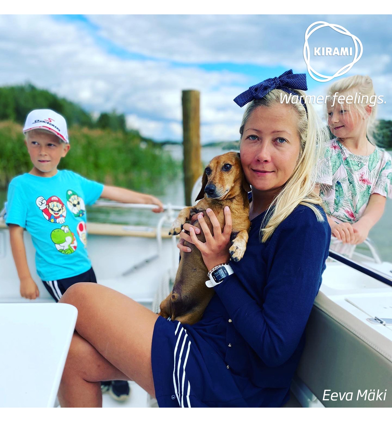 Kirami thanks Onni the dog and the Mäki family for a good story and great pictures | Kirami