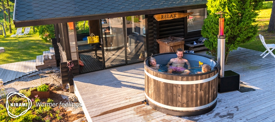 The new Chill hot tub is ideal for small groups | Kirami