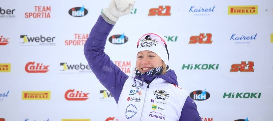 Skier Katri Lylynperä has set her sights on the World Cup | Kirami