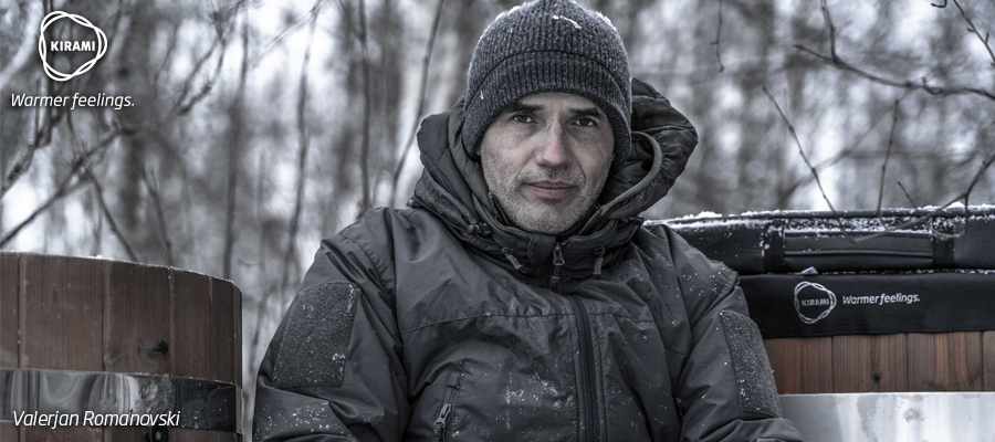 Valerjan Romanovski | The art of surviving outdoors in the winter | Kirami